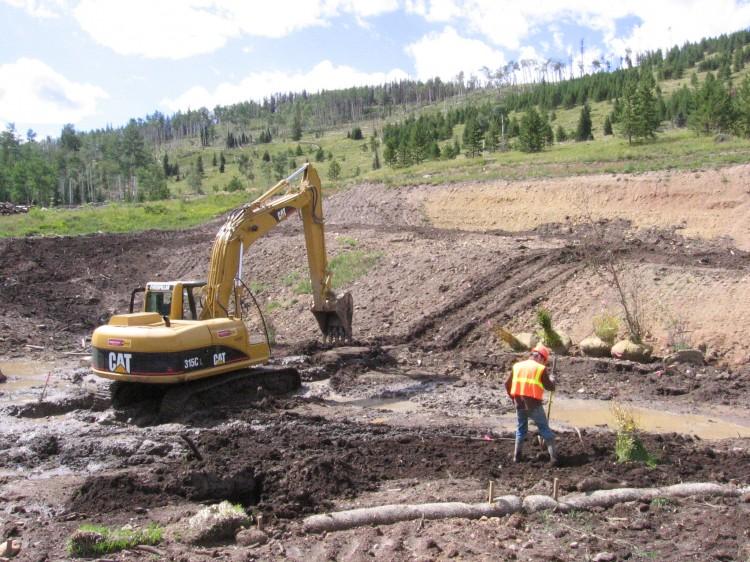 Construction Management Oversight : Construction oversight habitat management